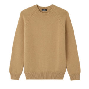 A.P.C. Pablo Sweater in Camel