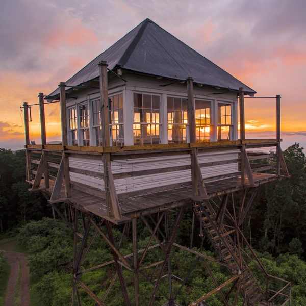 OFF THE GRID: THORNY MOUNTAIN FIRE TOWER